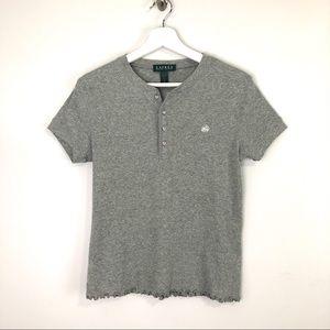 Lauren Ralph Lauren Gray T-Shirt